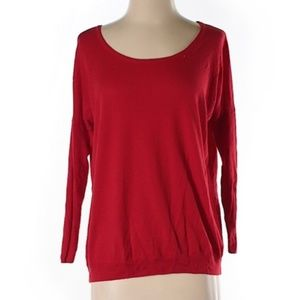 Moda International Red Knit Pullover Sweater